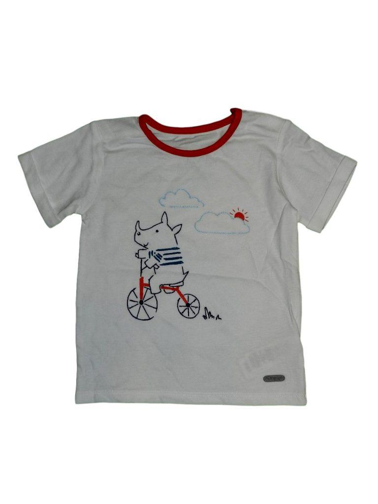 Újszerű Marks & Spencer Orrszarvús póló (80-86)