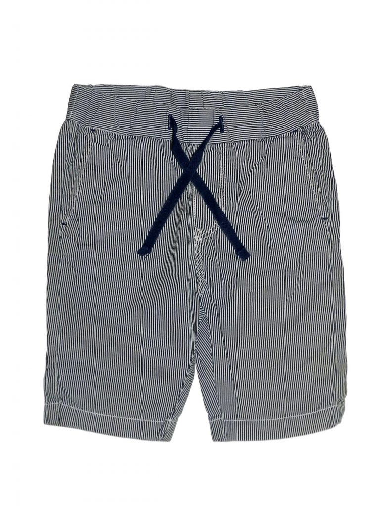 Hibátlan H&M Kék-fehér csíkos térdnadrág (104)