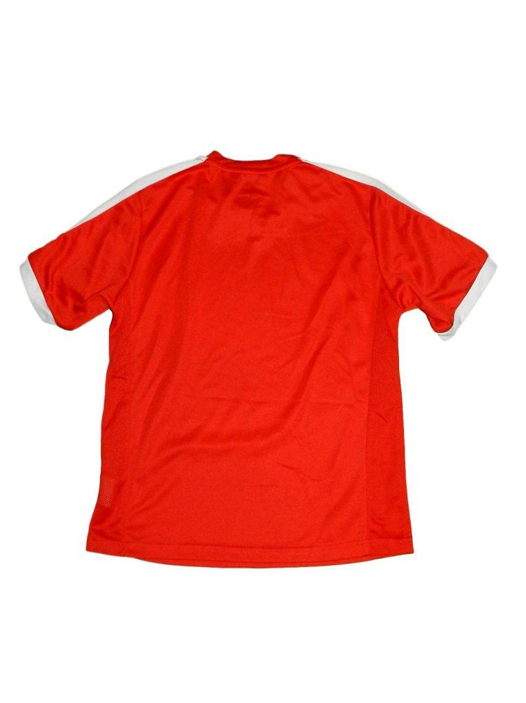 Hibátlan Egyéb márka Piros-fehér sport felső (134-140)