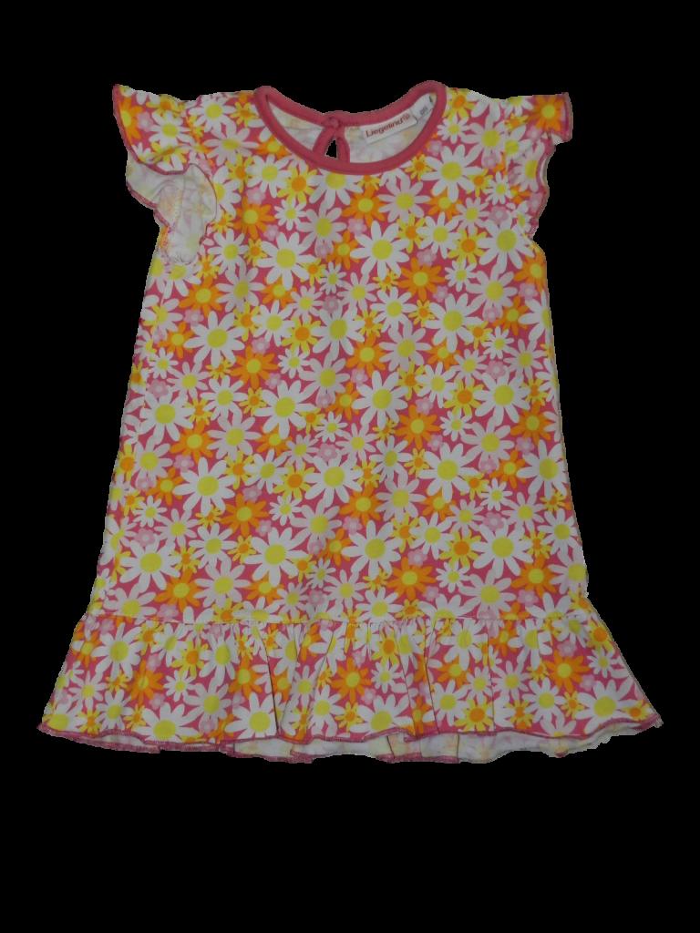Újszerű Egyéb márka Virágos pamut ruha (86)