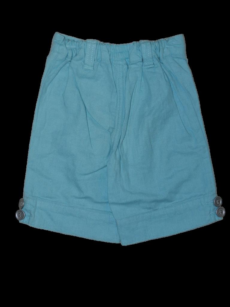 Újszerű F&F Kék, lenvászon nadrág (74-80)