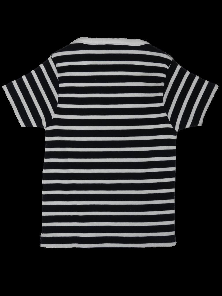 Újszerű Egyéb márka Kék-fehér csíkos felső (98-104)