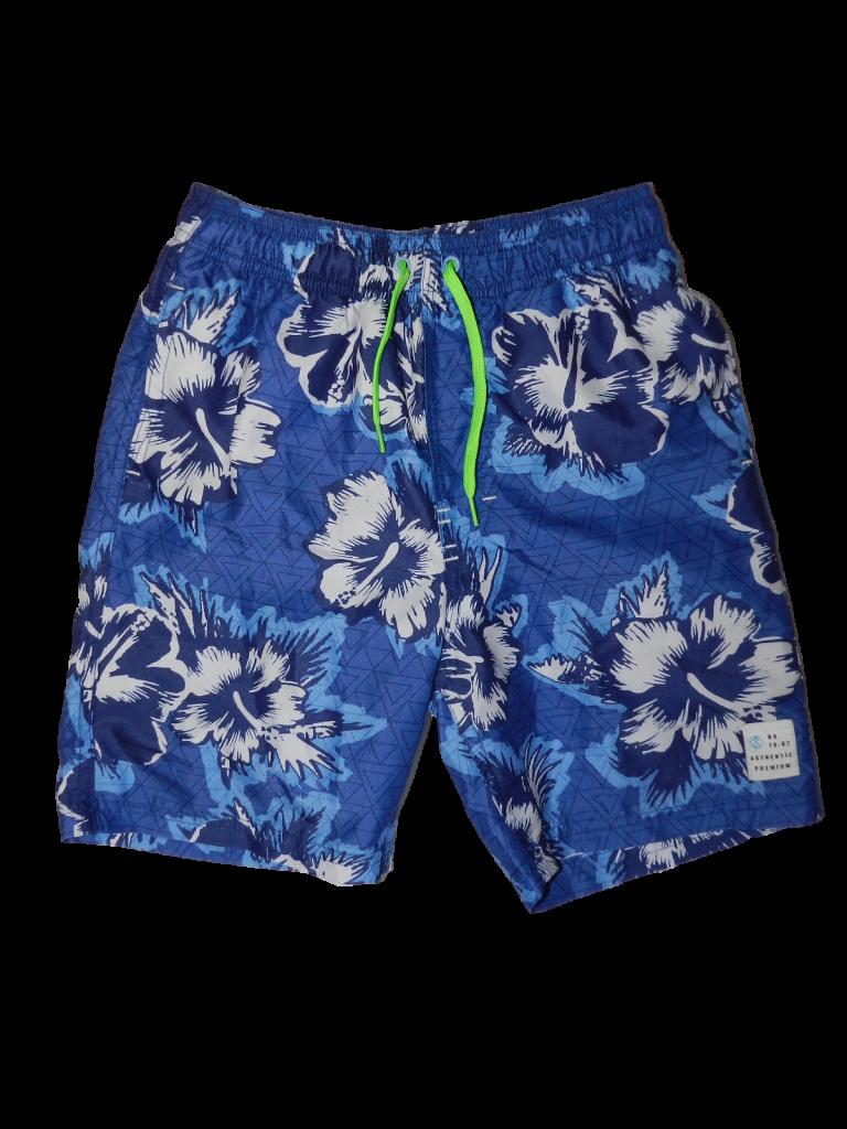 Új / Outlet Next Kék virágos rövidnadrág (122)