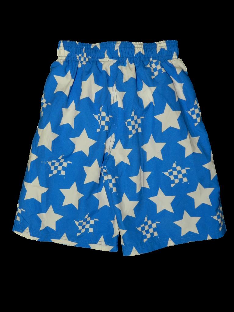 Újszerű Nutmeg Kék-fehér csillagos rövid nadrág (110-116)